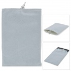 "Protective Soft Claimond Veins Sleeve Bag for 7"" Tablet - Grey"