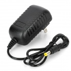 GM-0500100W1EU 5,5 x 2,1 mm AC Power Adapter - Schwarz (2-Flat-Pin Stecker / 100 ~ 240V)