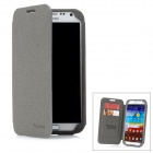 SAMDI Protective PU Leather Case for Samsung Galaxy Note II N7100 - Grey