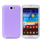 0.4mm Ultrathin Protective PC Back Case for Samsung Galaxy Note II N7100 - Purple