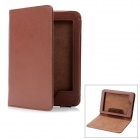 Protective PU Leather Smart Cover Case for Kindle Paperwhite - Brown