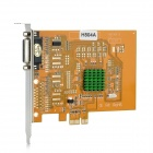 Lonrock LR-H804A D1 Real-Time 4-CH DVR Video Capture PCI-E Compression Card for Security Cameras