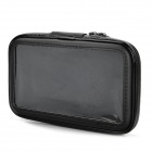 Outdoor Sports Bike Water Resistant Bag + Mount Holder for Samsung N7100 / N7000 - Black
