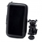 Bike Waterproof Bag w/ Mounting Holder for Samsung N7100 - Black