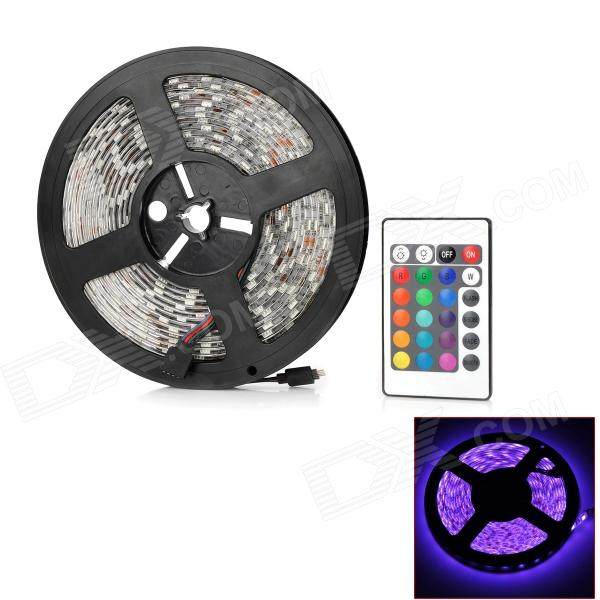 jr 5050 waterproof 72w 4500lm rgb 300 led light strip w remote 5m free shipping dealextreme. Black Bedroom Furniture Sets. Home Design Ideas