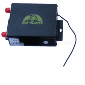 GPS / GSM / GPRS Tracker with Remote Controller - Black