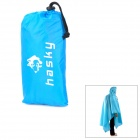 Hasky Outdoor Camping 3-in-1 Waterproof Oxford Cloth Raincoat Tent Pad - Blau