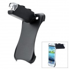 100X Zoom Microscope Lens Case w/ White 1-LED Light for Samsung Galaxy S3 i9300 - Black (3 x LR1130)