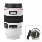 Unique Simulation Dummy Canon Zoom Lens Thermos Mug Cup - White (300ml)
