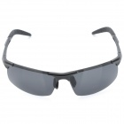 ReeDoon 1857 UV400 Protection Resin Lens Polarized Sunglasses - Black