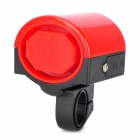 Bicycle Electronic Plastic Horn - Black + Red (2 x AAA)
