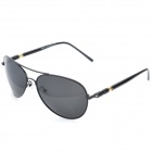 ReeDoon 309 UV400 Protection Resin Lens Polarized Sunglasses - Black