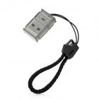 SY-T95 USB 2.0 Micro SD TF Card Reader - Silver + Grey
