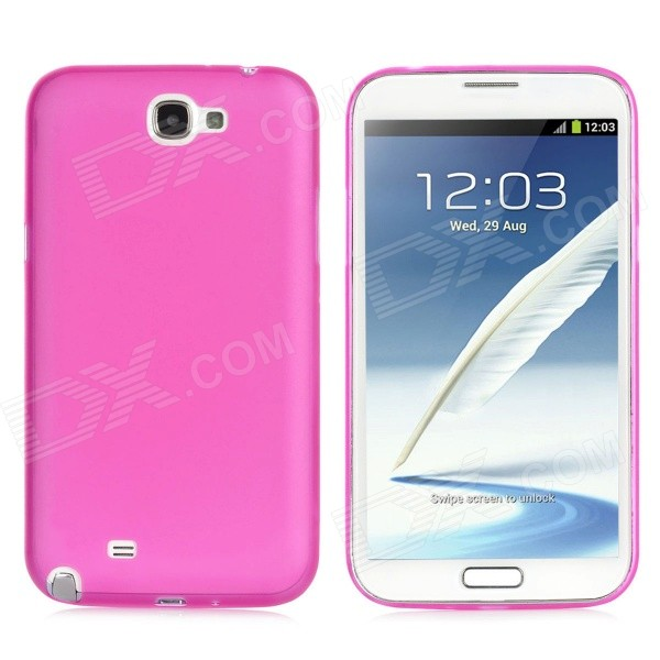 Фото 0.4mm Ultrathin Protective Plastic Back Case for Samsung Galaxy Note 2 N7100 - Translucent Deep Pink 0 4mm ultrathin protective plastic back case for samsung galaxy note 2 n7100 translucent deep pink