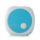 ONN V3 Mini Clip On Sports MP3 Player - Blue + White (4GB)