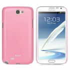 Protective Luminous Back Case for Samsung Galaxy Note II N7100 - Pink