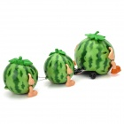 QQBH T4897A Electric Music Flash Artificial Watermelon Toy - Green (3 x AA)