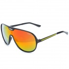 OREKA H1261 Fashion UV Protection Coating Film PC Lens Sunglasses - Black