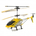 IA 8859 Rechargeable 3,5-CH R / C Helicopter w / Gyroscope - Gelb + Silber (IR Remote / 6 x AA)