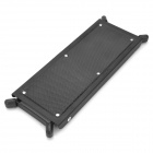 Iron + Plastic Guitar Foot Board - Black
