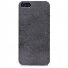 Protective Aluminum Alloy Back Case for Iphone 5 - Grey