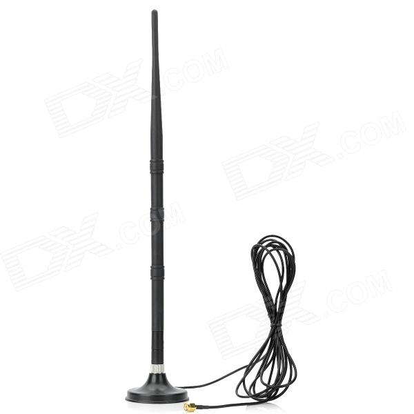 GI-09C 2.4~2.5MHz 9dBi Wi-Fi Antenna - Black - DXAntennas<br>Model GI-09C Frequency 2400~2500M Hz Gain 9 dBi VSWR Features Polarization Type: Vertical; Rated power: 50W; Input impedance: 50 ohms nominal; Connector Type: RP-SMA; Install the way: Adsorption Warranty Not available Packing List 1 x Antenna 1 x Dock station (285cm-cable length)<br>