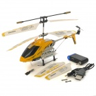MD757 Android Phones / Iphone Control 3.5-CH IR Remote Control R/C Helicopter - Yellow