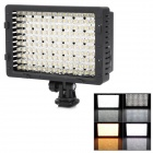 NanGuang CN-160 9.6W 160-LED 720lm 5400k Hot Shoe DV Light for Camera Video Camcorder - Black
