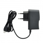 EU Plug Power Adapter for Wii U - Black (100~240V)