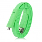USB 2.0 AM to Micro 5P Male Data Cable - Green