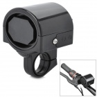Plastic 360 Degree Rotation Electronic Horn for Bicycle - Black (2 x AAA)