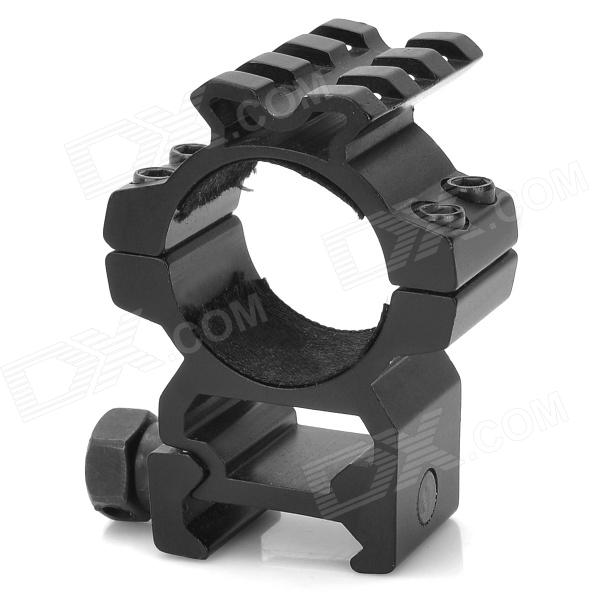 Aluminum Alloy Bracket Mount with Hex Wrench for All Guns w/ 25.4mm Caliber 6 aluminum alloy tactical bipod w extendable leg for guns black