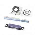 Replacement Volume / Home / On-Off Button + Lens Cover for Samsung i9300 / S3 - Blue