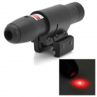 5mW Aluminum Alloy Red Laser Scope 1/ Gun Mount - Black (1 x CR2)