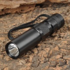 NEW-C3 Cree XR-E Q5 270lm White Flashlight - Black (1 x AA / 14500)