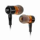 Apolok ME-C905-2 Stylish In-Ear Stereo Earphones - Orange + Black (3.5mm Plug / 120cm)