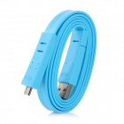 USB 2.0 AM to Micro 5P Male Data Cable - Blue (100cm-Cable)