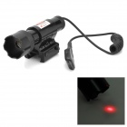 LR06A 20mW Aluminum Alloy Red Laser Sighter w/ Pressure Switch - Black (4 x AG13 )