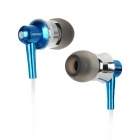 Apolok ME-C049-3 Stylish In-Ear Stereo Earphones - Blue + White (3.5mm Plug / 120cm)