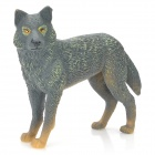 HC003 Wild Wolf mit Smile Resin Toy - Grey