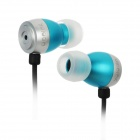 Apolok ME-C030-4 Stylish In-Ear Stereo Bass Earphones - Blue + Black (3.5mm Plug / 120cm)