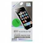 NILLKIN Glossy Matte Screen Protector + Blue Film + Cleaning Cloth for Nokia Lumia 820 - Transparent
