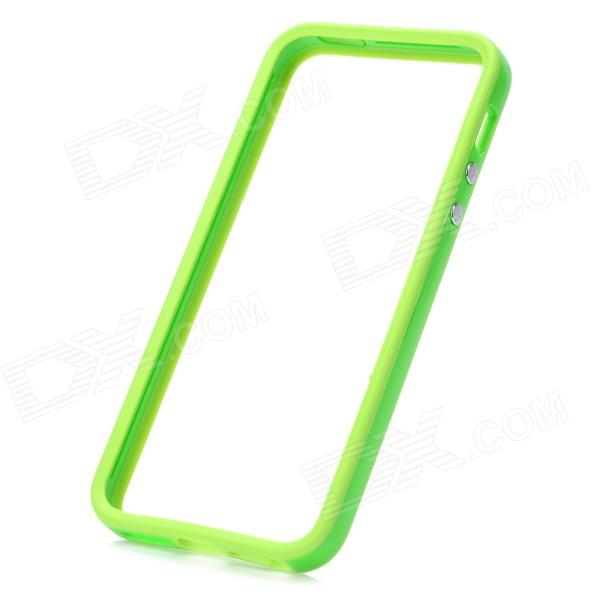Protective Plastic Bumper Frame for Iphone 5 - Green стоимость