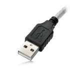 USB 2.0 Male to Female Extension Cable - Silver (500cm)