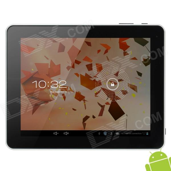 "HSD-1002 9.7"" Capacitive Screen Android 4.1.1 Dual Core Tablet PC w/ TF / Wi-Fi / Camera - Silver"