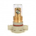 CL20121204-4 H16 13.6W 932lm White Light Car Foglight - White + Golden (DC 12~24V)