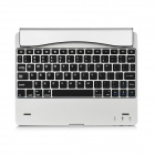 Witspad M6 Ultra-Slim Bluetooth v3.0 78-Key Keyboard for Ipad 1 / Ipad 2 / New Ipad - Silver