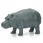 HC001 Wut Hippo Resin Toy / Doll - Grey