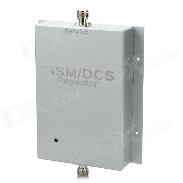 где купить GSM / DCS Cell Phone Mobile Phone Signal Repeater Booster Amplifier - Silver дешево