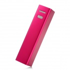 PB-2600 External Portable 2600mAh Power Bank for Nokia / Samsung - Red